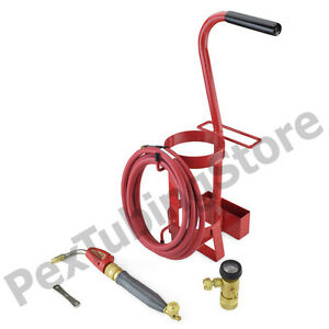 Turbotorch 0426 0011 Tdlx 2003mc Torch Swirl Tote Outfit Kit Air Acetylene