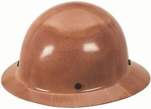 Msa Safety 475407 Skullgard Protective Hat Tan W Fas trac Iii Suspension