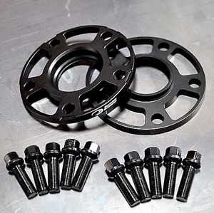Porsche 18mm Hubcentric Racing Wheel Spacers Forged 7075 T6 Aluminum Lug Bolts