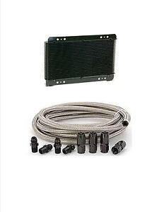 Automatic Transmission Cooler Line Kit 6an Steel Braided Hose 700r4 Cooler
