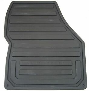 2008 2012 Land Rover Lr2 All Weather Rubber Floor Mats Set Of 4 Genuine New