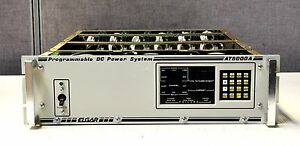Elgar At8000a 6 Channel Programmable Load power Supply Military Style Connectors