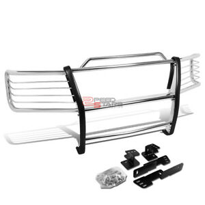 For 00 06 Chevy Tahoe suburban Stainless Steel Front Bumper Brush Grille Guard