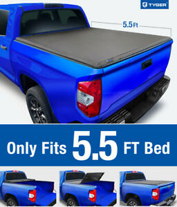 Fit 2014 2019 Toyota Tundra 5 5ft 66in Bed Tyger T3 Tri Fold Tonneau Cover