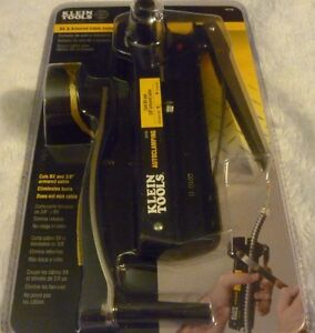 New Klein Tools Auto Clamping Bx And 3 8 Armored Cable Cutter 5