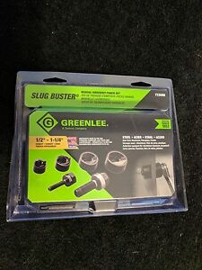 Greenlee 7235bb Slug buster Manual Knockout Kit For 1 2 To 1 1 4 inch Conduit