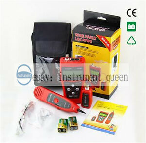 Noyafa Nf 308 Network Telephone Audio Cable Length Tester Wire Fault Locator