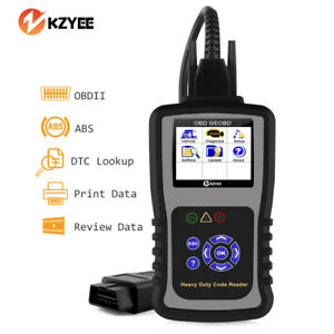 Heavy Duty Truck Automotive Code Reader Diagnostic Scan Tool Abs Reset Funcion