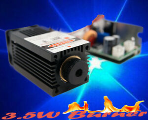 Engraving 3w 450nm Blue Laser Module focusable ttl cut burning gift Goggle