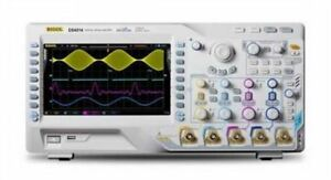 100mhz Rigol Ds4014 140mpts 110000 Wfms s Digital Oscilloscope 4 Channel 4gsa s