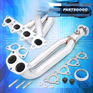 For 96 00 Civic Ek D Series Sohc 4 2 1 Stainless Steel Exhaust Header Manifold