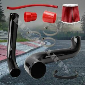 2 75 Black Cold Air Intake Induction System Kit Acura Integra 94 01 Gs ls rs
