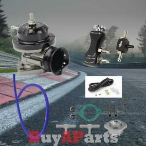 Black Turbo Charger Type rs Blow Off Valve 30psi Manual Boost Controller Kit