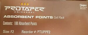 Protaper Universal F2 Absorbent Paper Points Dentsply Tulsa Dental Root Canal