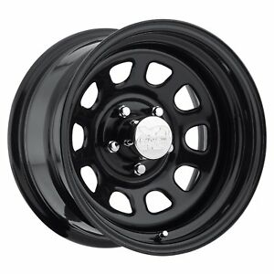 Pro Comp Wheel 15x8 Series 51 Bolt Pattern 5x4 5 Gloss Black Steel 51 5865 Pcw51