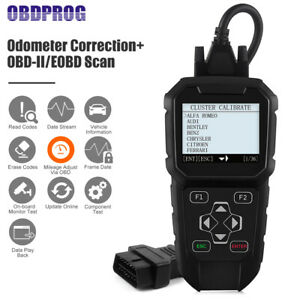 Obd2 Mileage Correction Odometer Adjustment Auto Diagnostic Tool Code Reader Us