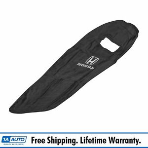 Oem Black Cotton Terry Velour Seat Armour Cover Front Lh Or Rh For Honda New