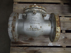 Powell Gate Valve Size 4