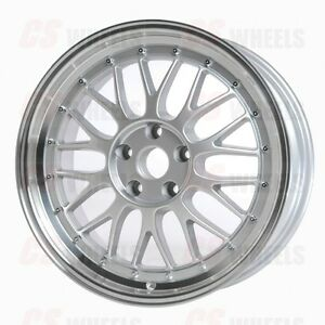 19 Silver Mesh Lm Style Wheels Rims Fits Bmw E60 5 Series 528xi 535xi Xdrive