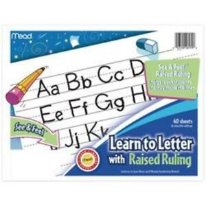 Mead Learn To Letter Writing Book Education Printed Book Book mea 48122