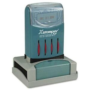 Xstamper Versadater Pre inked Stamp Paid Message date Stamp 1 31 X 66210