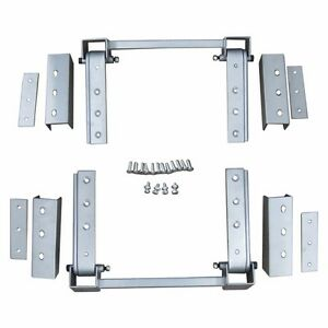 New Universal Super Heavy Duty Hidden Hinge Kit For 2 Doors