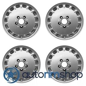 Mercedes 300 420 560 1986 1989 15 Factory Oem Wheels Rims Set