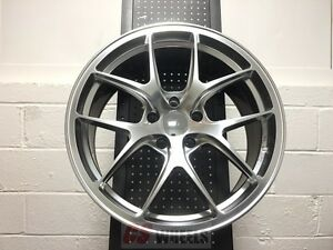 20 Vortex Gtr Silver Rims Wheels Fit Bmw 745i 750i 750li Alpina B7 840i 850i