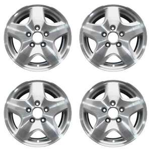 Honda Accord 1998 2000 15 Factory Oem Wheels Rims Set 42700s87a11