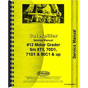 For Caterpillar 12 Grader Chassis Service Manual new