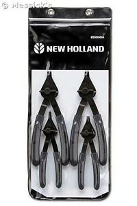 New Holland Agriculture 4 Piece Snap Ring Plier Set