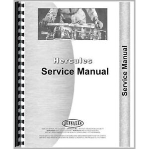New Oliver Oc 46 Crawler Engine Service Manual
