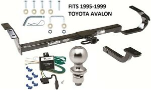 Complete Trailer Hitch Package W Wiring Kit Fits 1995 1999 Toyota Avalon New