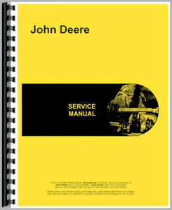 New Service Manual For John Deere Tractor 750