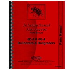 New International Harvester Wt6 Tractor Parts Manual