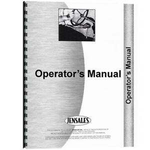 New Minneapolis Moline C1200 Row Crop Cultivator Implement Operator Manual