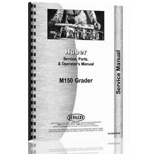 New Huber Service Operator Parts Manual