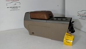 2008 Ford F150 King Ranch Floor Shift Center Console Armrest Leather Lid Trim Kw