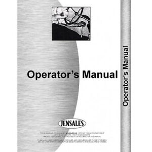 New International Harvester 9 Field Cultivator Operator Manual ih o 9 Fc