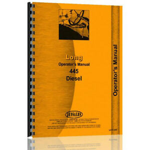New Long 560 Tractor Operator Manual