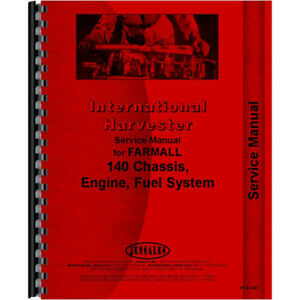 New Farmall 140 Tractor Service Manual