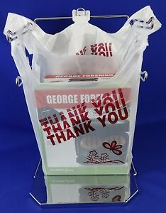 Thank You Plastic T shirt Bag Carry 11 5 X 5 X 21 5 Bags Only