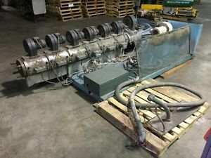 Barmag 4 Vented Extruder With Controls And Reliance 125 Hp Dc Motor