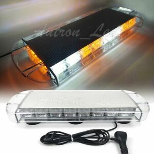60 Led 21 Amber white Traffic Emergency Wrecker Flash Mini Warning Strobe Light