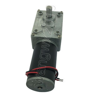 Dc12v 24v A58sw31zy Large Torque Metal Turbo Worm Gearbox Reduction Gear Motor