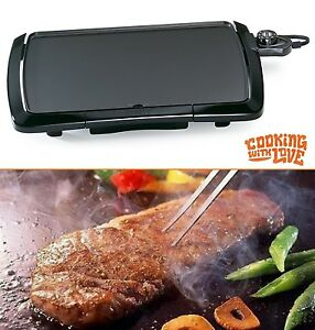 Electric Flat Top Grill Restaurant Professional Commercial 16 Kitchen Griddle