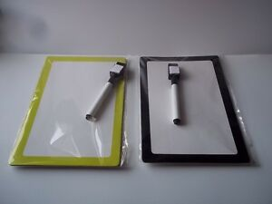 Staples Dry Erase Boards Marker 2 New Opened To Test Marker Black Neon