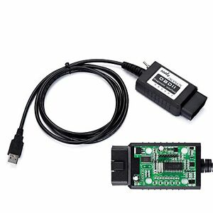 Bbfly bf32302 Elm327 Usb Modified Ftdi Chip Obd2 Elmconfig Forscan Hs can M