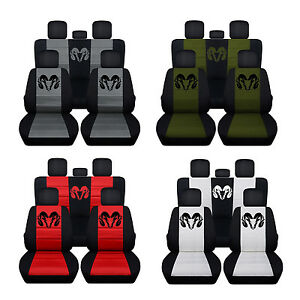 40 20 40 Front Seat Covers Plus Rear 2012 To 2017 Dodge Ram Seat Covers Abf