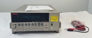 Keithley 6487 Picoammeter And Voltage Source Meter 90 Day Warranty
